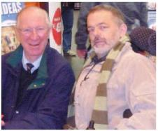 Paddy and Jack Charlton
